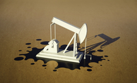 Illustrative image of oil well