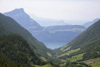 Idyllic view of Swiss Alps against sky