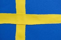 Full frame shot of Swedish flag