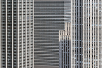 Conceptual, close-up, full frame view of modern office buildings, Manhattan, NYC 11016033626| 写真素材・ストックフォト・画像・イラスト素材|アマナイメージズ