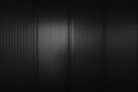 Full frame shot of black corrugated wall