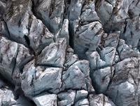 Aerial view of Fiescher Glacier, Valais, Switzerland 11016035503  写真素材・ストックフォト・画像・イラスト素材 アマナイメージズ