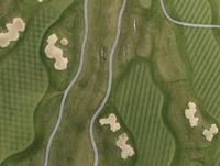 Full frame aerial view of golf course, Stuttgart, Baden-Wuerttemberg, Germany 11016035524  写真素材・ストックフォト・画像・イラスト素材 アマナイメージズ