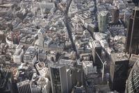 Full frame aerial view of city, London, England, UK 11016035577  写真素材・ストックフォト・画像・イラスト素材 アマナイメージズ