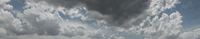 Panoramic shot of cloudy sky 11016035791  写真素材・ストックフォト・画像・イラスト素材 アマナイメージズ