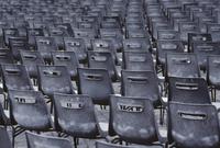 Full frame shot of chairs 11016035883  写真素材・ストックフォト・画像・イラスト素材 アマナイメージズ