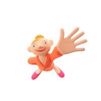 片手を上げる女の子 クラフト
