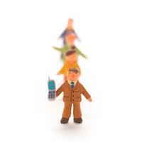 ビジネスマンのオブジェ クラフト 11017000143| 写真素材・ストックフォト・画像・イラスト素材|アマナイメージズ