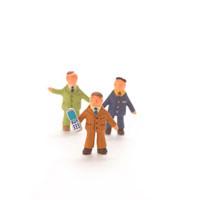ビジネスマンのオブジェ クラフト 11017000147| 写真素材・ストックフォト・画像・イラスト素材|アマナイメージズ