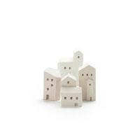 白い建物のオブジェ クラフト 11017000413| 写真素材・ストックフォト・画像・イラスト素材|アマナイメージズ