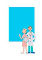 医者と看護師 クラフト