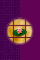 月と蓮と和のイメージ 11017000710| 写真素材・ストックフォト・画像・イラスト素材|アマナイメージズ