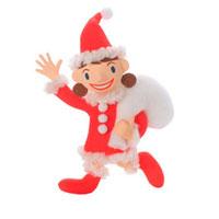 サンタの服を着た女の子 クラフト 11017001279| 写真素材・ストックフォト・画像・イラスト素材|アマナイメージズ