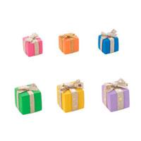 カラフルな6つのプレゼント クラフト 11017001296  写真素材・ストックフォト・画像・イラスト素材 アマナイメージズ