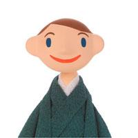 着物を着た男性 クラフト 11017001354  写真素材・ストックフォト・画像・イラスト素材 アマナイメージズ