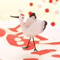 鶴のオブジェ クラフト 11017001384| 写真素材・ストックフォト・画像・イラスト素材|アマナイメージズ