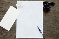 手紙とガラスペン