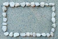 石で作ったフレーム