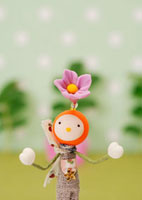 花の妖精のクラフト 11017001728| 写真素材・ストックフォト・画像・イラスト素材|アマナイメージズ