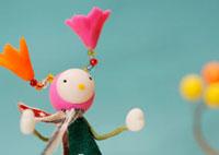 花の妖精のクラフト 11017001730| 写真素材・ストックフォト・画像・イラスト素材|アマナイメージズ