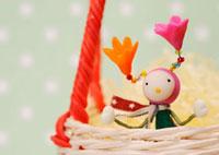 花の妖精のクラフト 11017001731| 写真素材・ストックフォト・画像・イラスト素材|アマナイメージズ