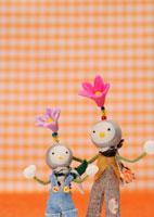 花の妖精のクラフト 11017001734| 写真素材・ストックフォト・画像・イラスト素材|アマナイメージズ