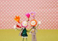 花の妖精のクラフト 11017001738| 写真素材・ストックフォト・画像・イラスト素材|アマナイメージズ