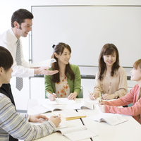 英会話教室の授業風景