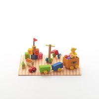 ミニチュアルームのおもちゃ クラフト