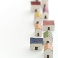 縦1列に並ぶ家 クラフト