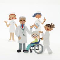 医療スタッフと患者のクラフト