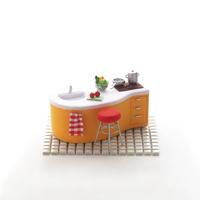 キッチンのミニチュアルーム クラフト