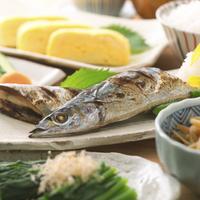 焼き秋刀魚とおかず