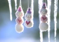 つららと雪だるま 11017018391  写真素材・ストックフォト・画像・イラスト素材 アマナイメージズ