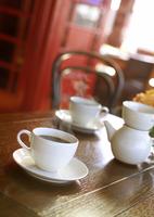 カフェと入れたてコーヒー