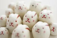 たくさんのウサギの集合 干支のクラフト