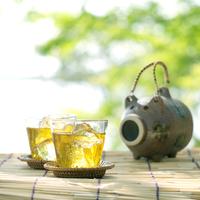 冷茶と蚊取線香