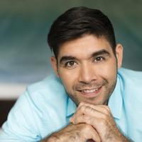 Hispanic man smiling