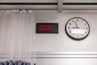 Clocks in hospital room