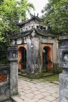 Dilapidated temple arches in Hoa Lu, Ninh Binh Province, Vietnam