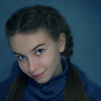 Caucasian teenage girl smiling