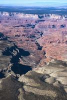 Aerial view of Grand Canyon, Arizona, United States