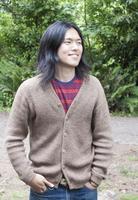 Japanese man standing outdoors