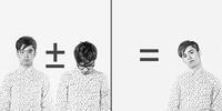 Diptych of Caucasian man with math equation 11018069967| 写真素材・ストックフォト・画像・イラスト素材|アマナイメージズ