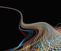 Time lapse view of light streams 11018073096| 写真素材・ストックフォト・画像・イラスト素材|アマナイメージズ