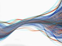 Flowing multicolor light streams 11018073118| 写真素材・ストックフォト・画像・イラスト素材|アマナイメージズ