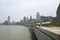 上海の外灘地区