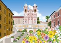 春のローマのイメージ