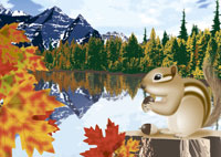 秋のカナディアンロッキーのイメージ 11019006072| 写真素材・ストックフォト・画像・イラスト素材|アマナイメージズ