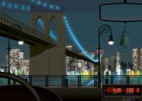 ブルックリンブリッジの夜景イメージ